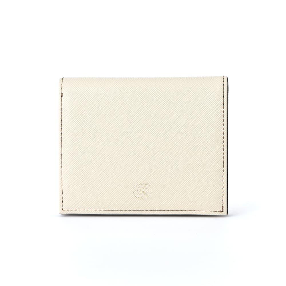 折財布【バイカラーレザー】