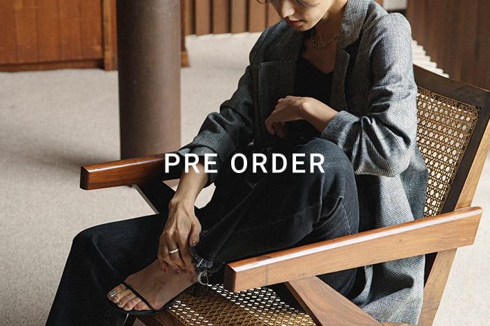 Loungedress 【PREORDER】2021AW 新作アイテム予約スタート!