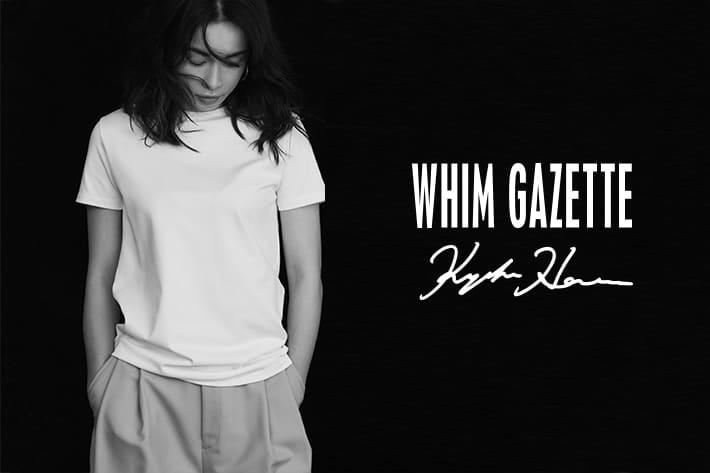 Whim Gazette 女優・長谷川京子さんとWhim Gazetteがコラボレーションしたファーストコレクションが誕生。
