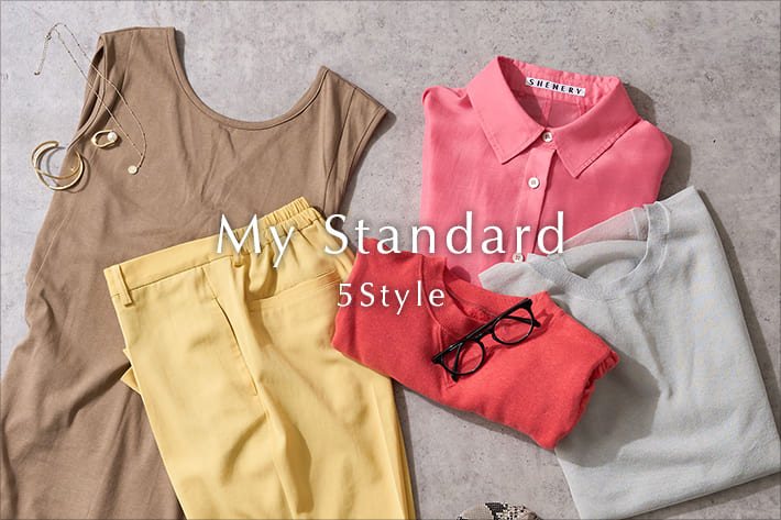 SHENERY 【5 Style】夏を楽しむお気に入りコーデ