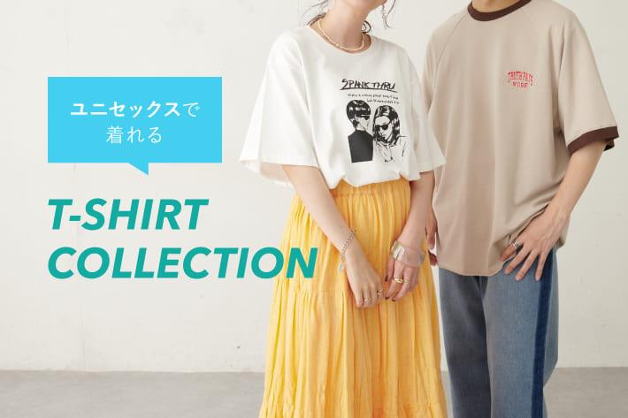 Discoat 【PICK UP】ユニセックスで着れる!メンズTシャツコレクション!