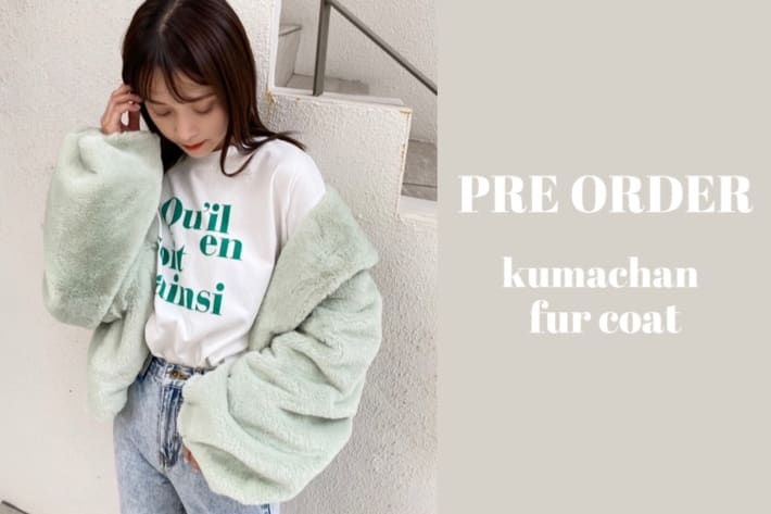 one after another NICE CLAUP 【PRE ORDER】今年も登場!くまちゃんコート