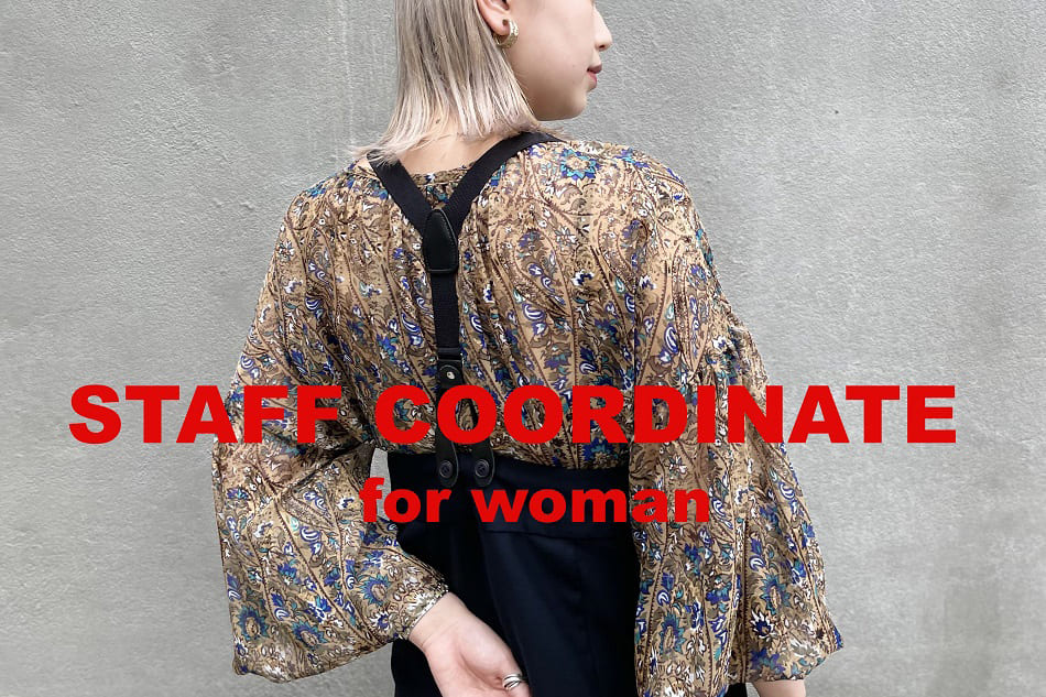 CIAOPANIC STAFF COORDINATE for woman
