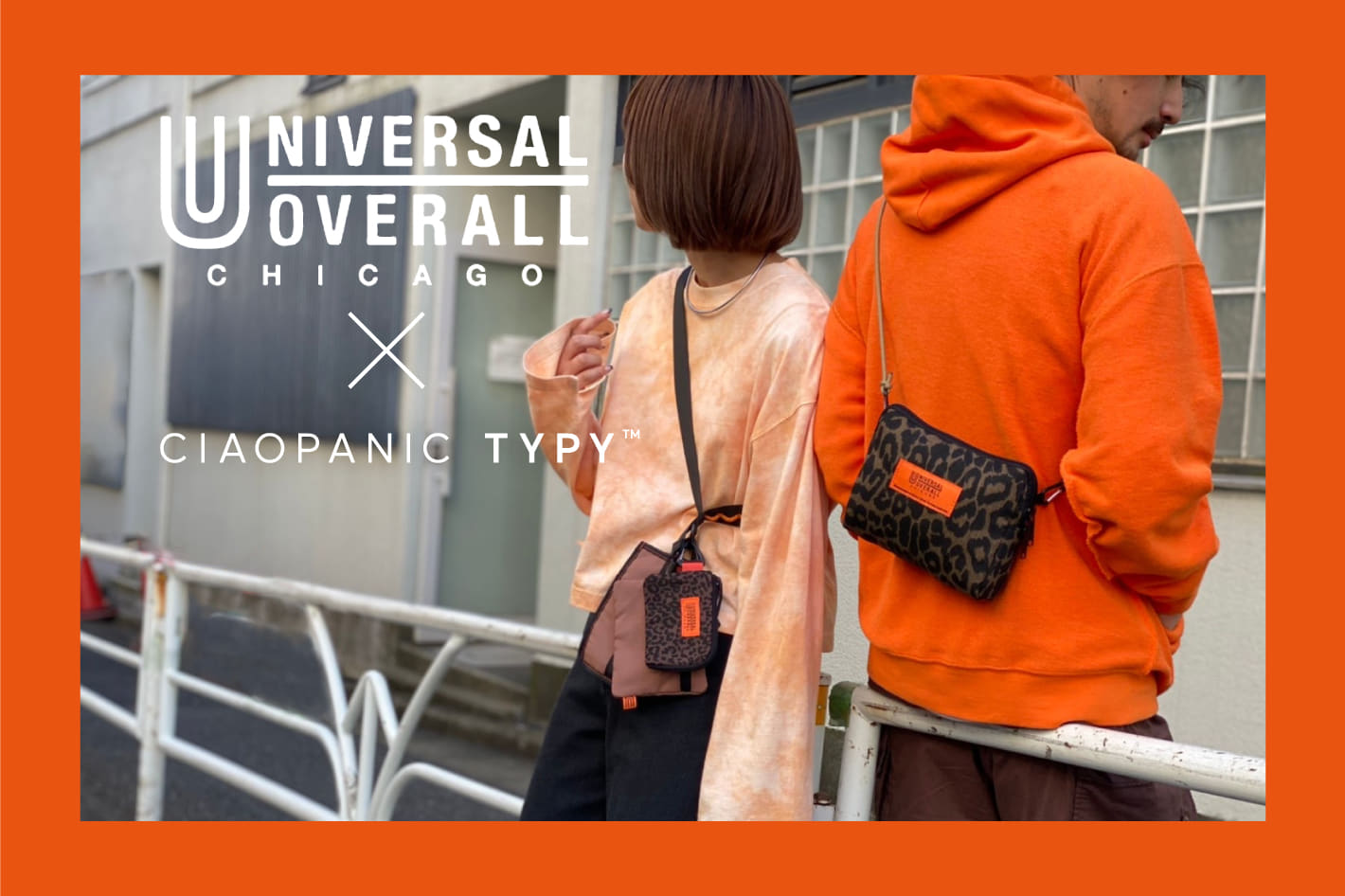 CIAOPANIC TYPY 【UNIVERSAL OVERALL×CIAOPANIC TYPY】予約販売開始!
