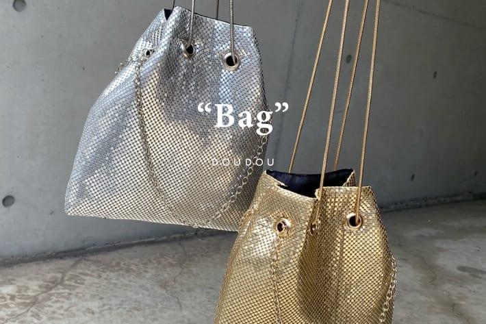 DOUDOU シンプルだけどコーデに効く+ONEアイテム/DOUDOU BAG collection!