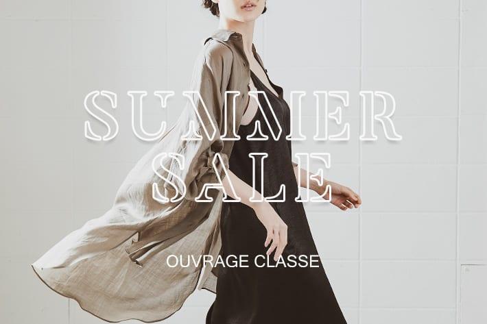 OUVRAGE CLASSE 夏本番!お盆休み前の必須セールアイテム◎