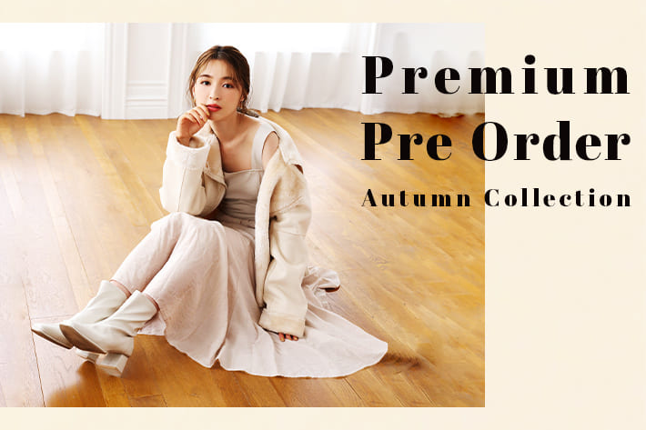 one after another NICE CLAUP 【PRE ORDER】秋のプレミアムプレオーダー