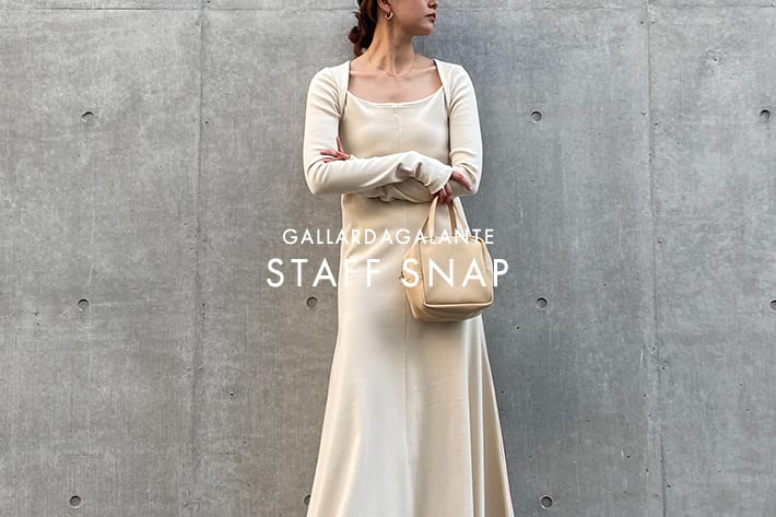 STAFF SNAP #66|秋小物でいち早く季節を先取り!