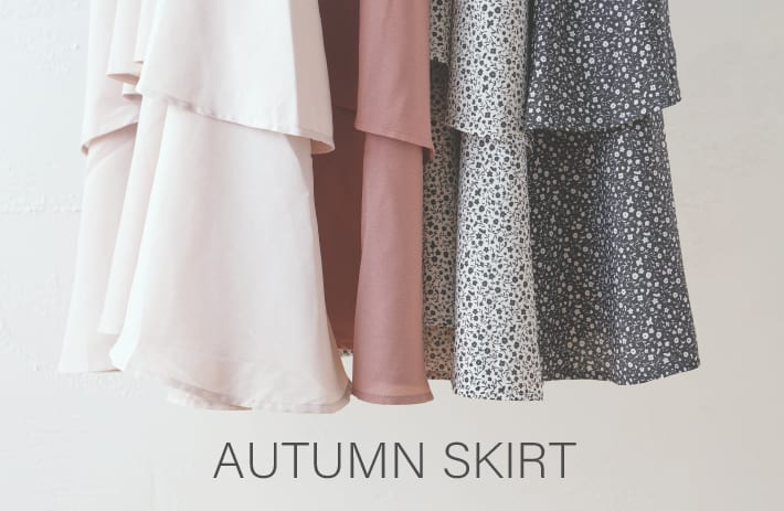 NICE CLAUP OUTLET 【AUTUMN SKIRT】