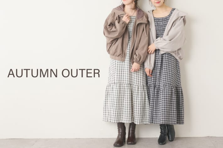 NICE CLAUP OUTLET 【AUTUMN OUTER】