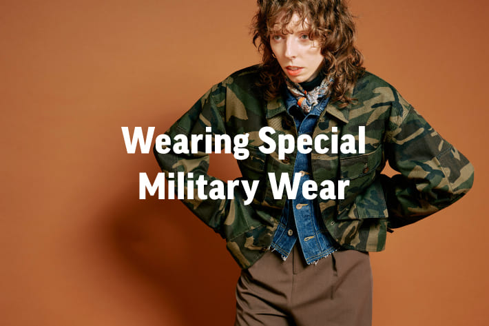 CIAOPANIC Wearing Special Military Wear
