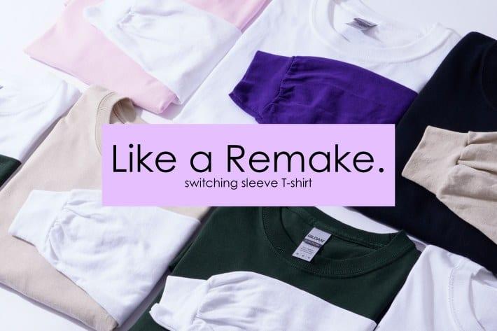 CIAOPANIC MENS | 切り替えデザインで差をつける、リメイク風Tシャツ