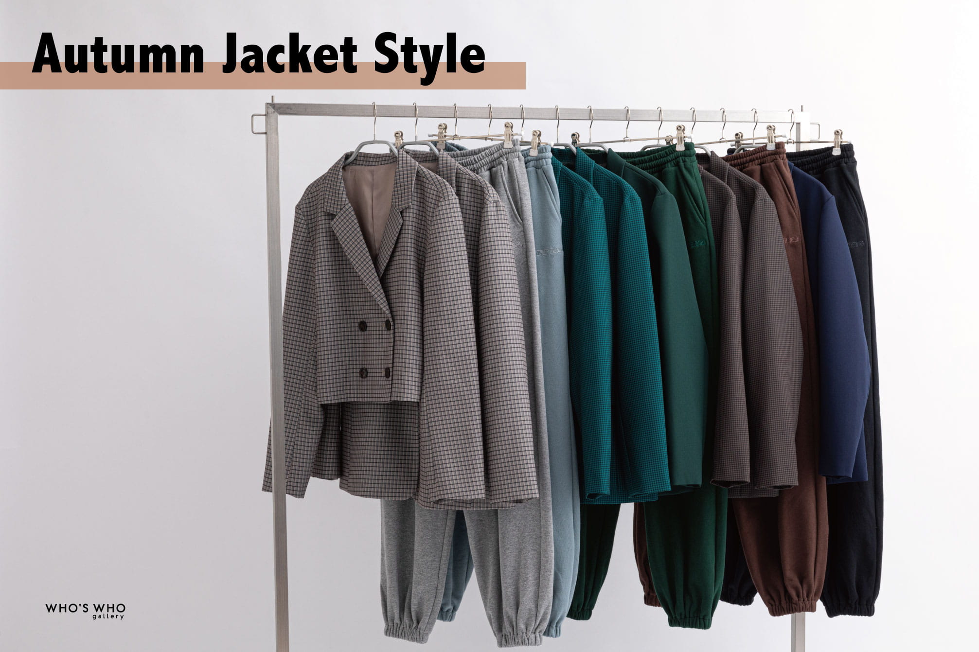 WHO'S WHO gallery 【Autumn Jacket Style】
