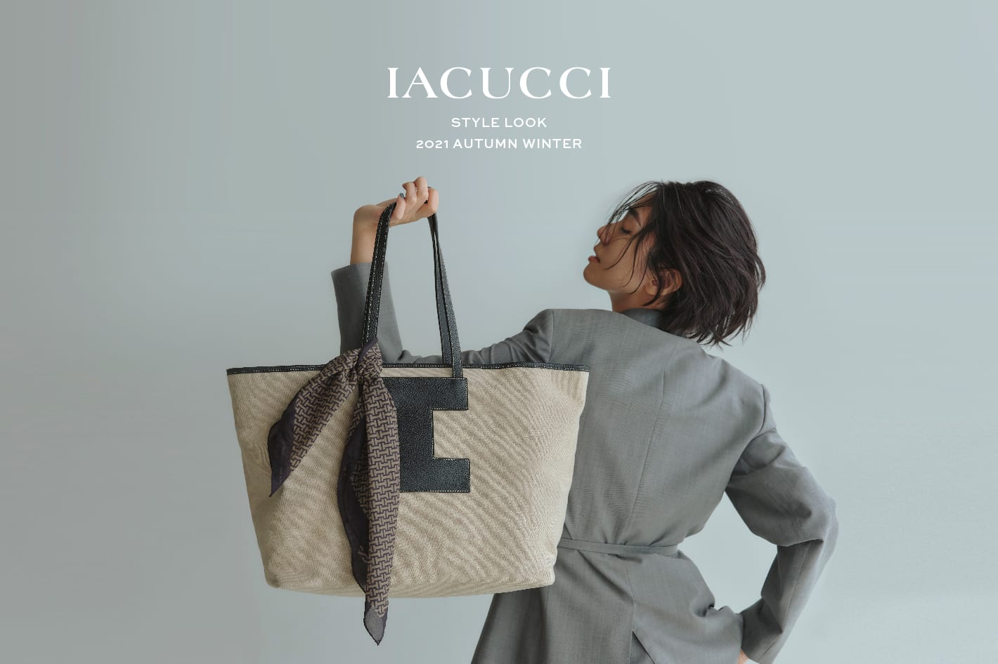 IACUCCI 2021 AUTUMN/WINTER COLLECTION STYLE LOOK