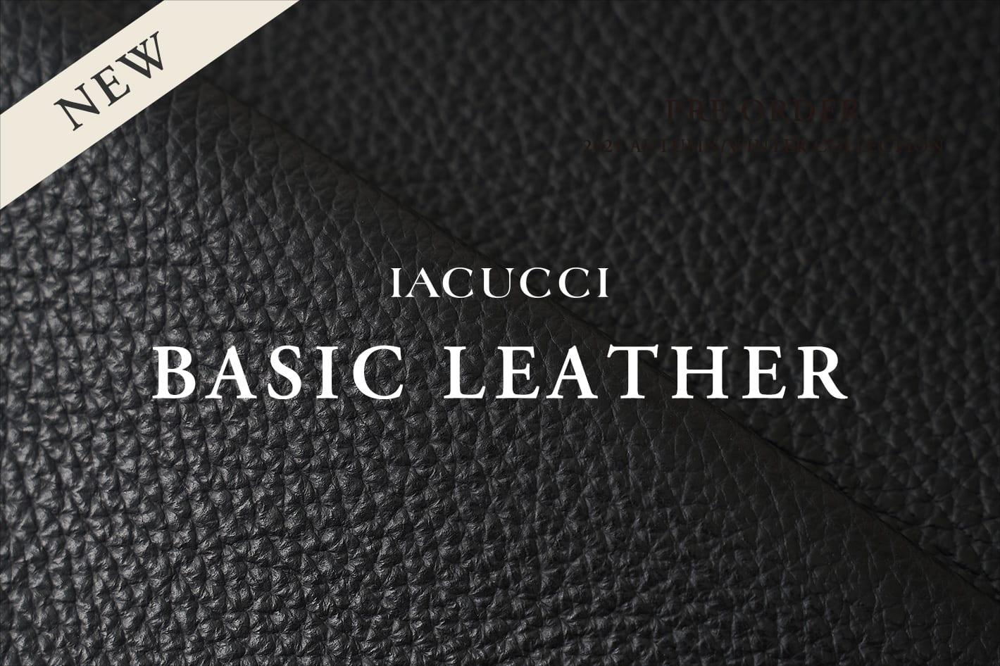 IACUCCI IACUCCI BESIC LEATHER -Vol.03 ALCE-