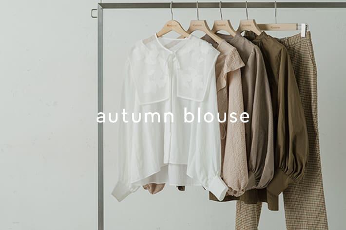 Kastane autumn blouse