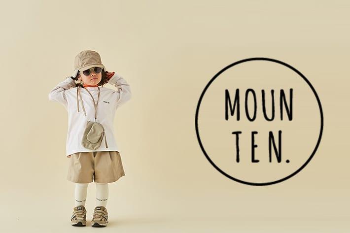 BONbazaar 《MOUN TEN.》キッズもおしゃれを楽しみたい!MOUN TEN.の新作アイテム入荷しました。