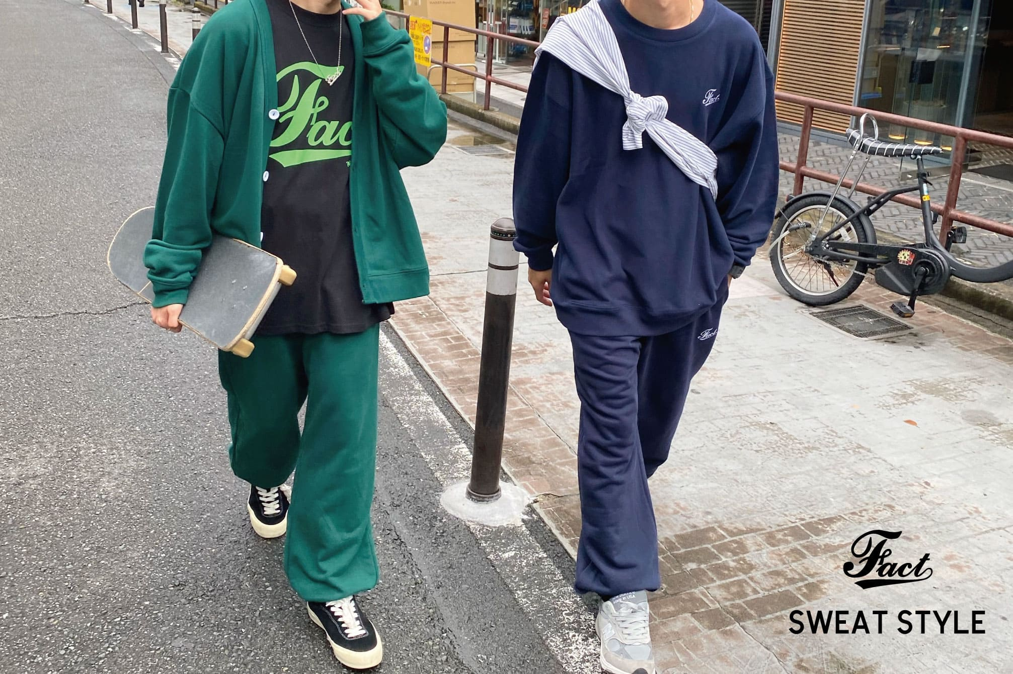 WHO'S WHO gallery 【FACT SWEATS】