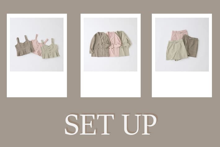 NICE CLAUP OUTLET 【SET UP】