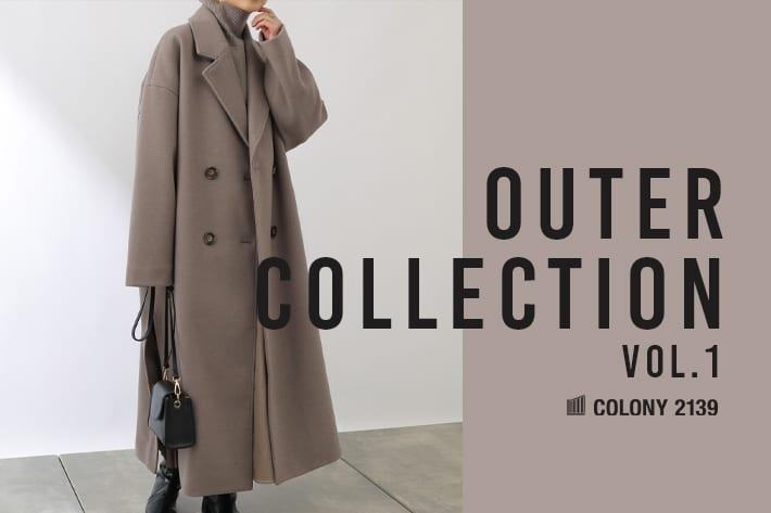 COLONY 2139 【WOMEN'S】COLONY 2139 アウターコレクションvol.1 『テックウール』