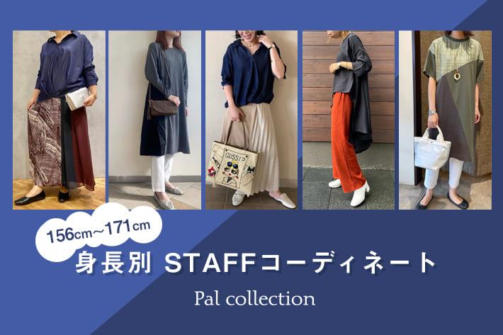 Pal collection 【身長別】STAFFコーディネートをご紹介!