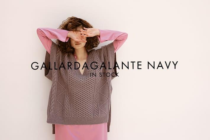 GALLARDAGALANTE(ガリャルダガランテ) NAVY INSTOCK