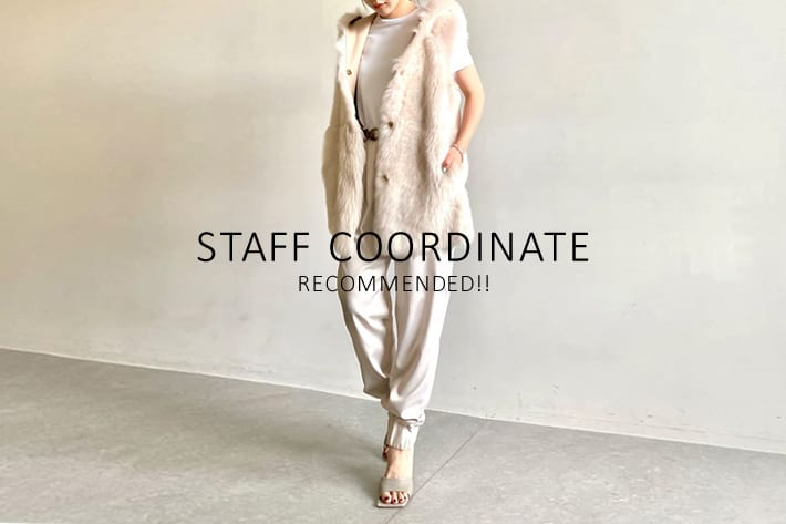 Whim Gazette 《STAFF COORDINATE》× RECOMMENDED ITEM