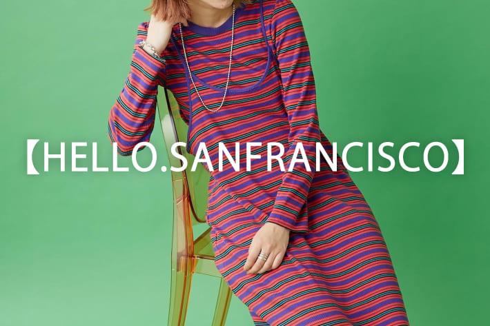 CIAOPANIC TYPY 【HELLO.SANFRANCISCO】販売開始!