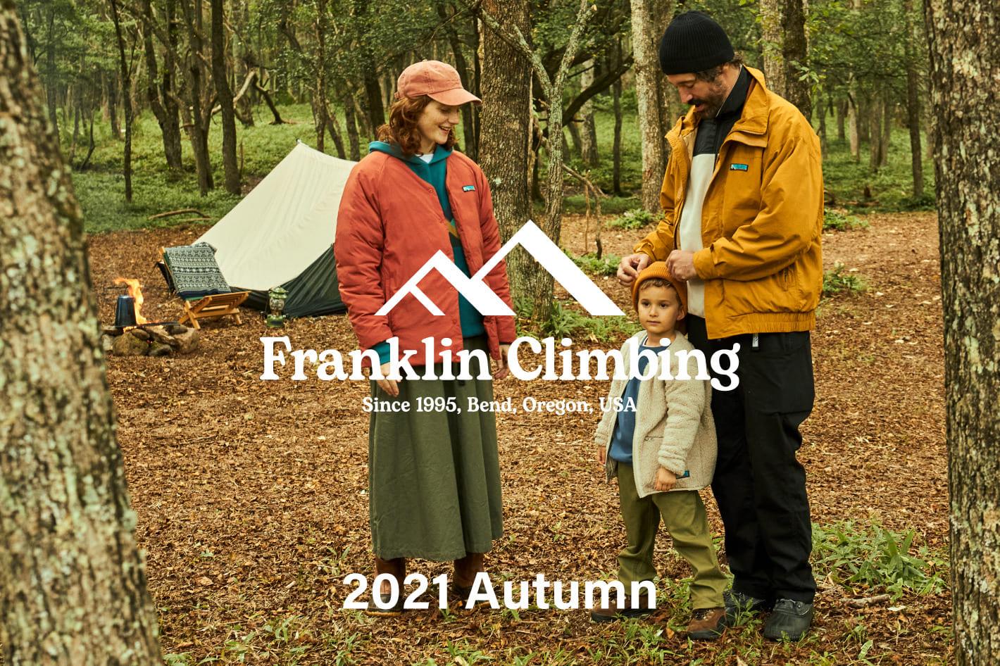 CIAOPANIC TYPY 【Franklin Climbing 2021AW 販売開始】