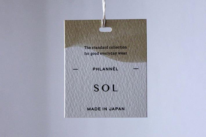 "BLOOM&BRANCH 【PICK UP】 PHLANNÈL SOL -目指したいのは""並外れた普通""-"