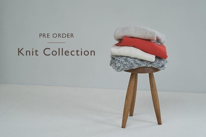 LIVETART 【PRE ORDER】Knit Collection  一足先に冬支度