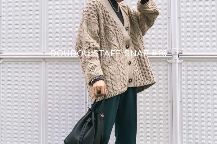 DOUDOU WEB限定オススメアイテム/STAFF SNAP#16