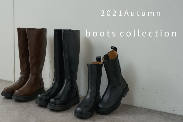 natural couture 【PICK UP!】boots collection