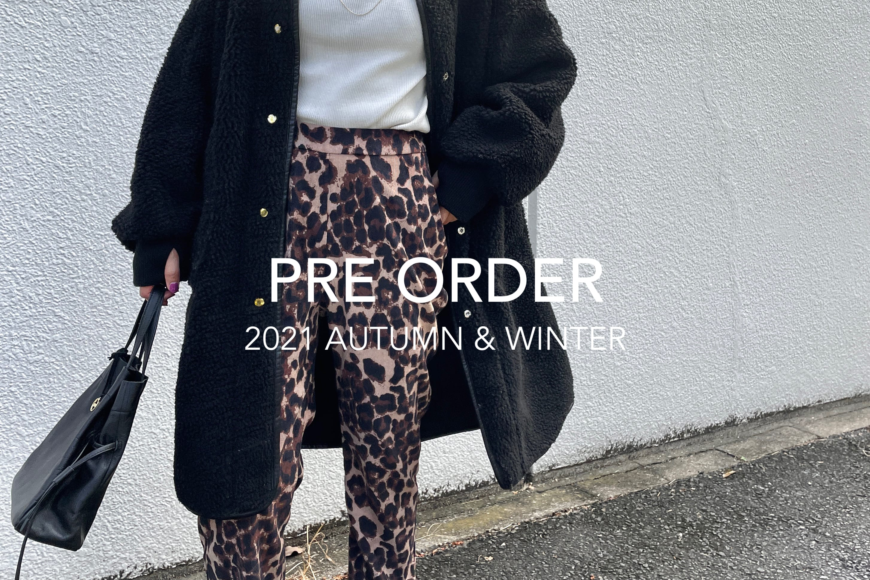 Omekashi 【2021AW】PRE ORDER