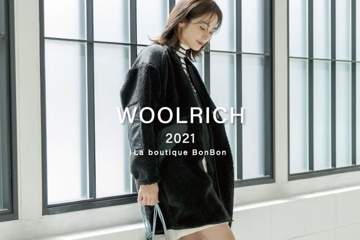 La boutique BonBon 早くも人気!この冬注目大「WOOLRICH(ウールリッチ)」のボアコート