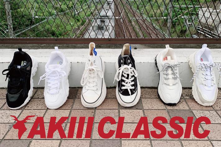 RASVOA 今大注目のNEW ITEM!!『AKIII CLASSIC』スニーカー!!
