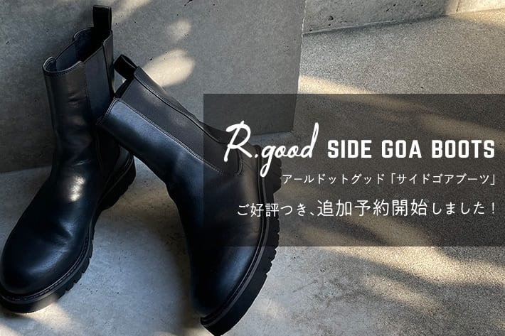 RIVE DROITE R.good Side goa boots ご好評につき、追加予約開始しました!