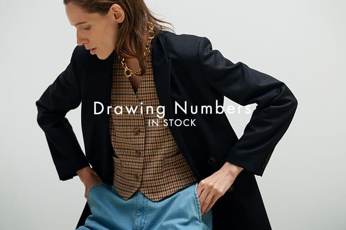 GALLARDAGALANTE 大人のエレガントを纏う「Drawing Numbers」の新作達