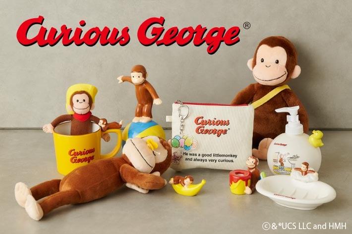 BIRTHDAY BAR 生誕80周年!おさるのジョージのグッズを販売します!