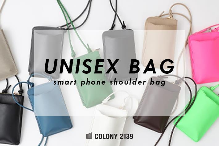 COLONY 2139 【WOMEN'S&MEN'S】大人気スマホお財布ミニショルダーバッグが新色とともに予約開始!