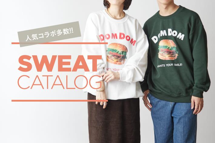 Discoat 【 SWEAT CATALOG 】人気コラボ多数!おすすめスウェットをCHECK!