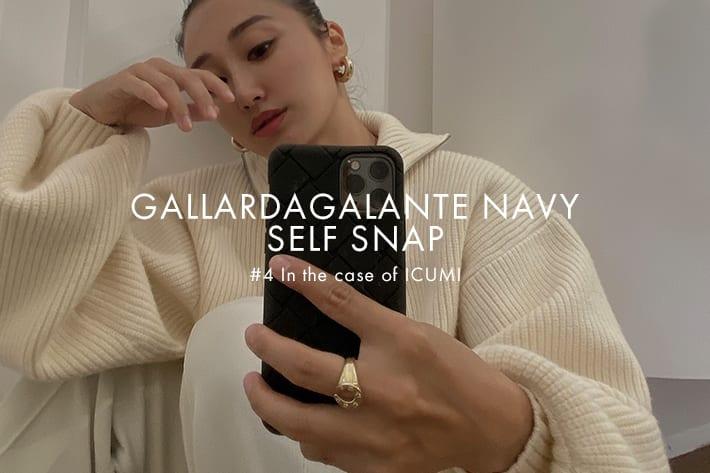 GALLARDAGALANTE 「GALLARDAGALANTE NAVY」SELF SNAP #4 in the case of ICUMI