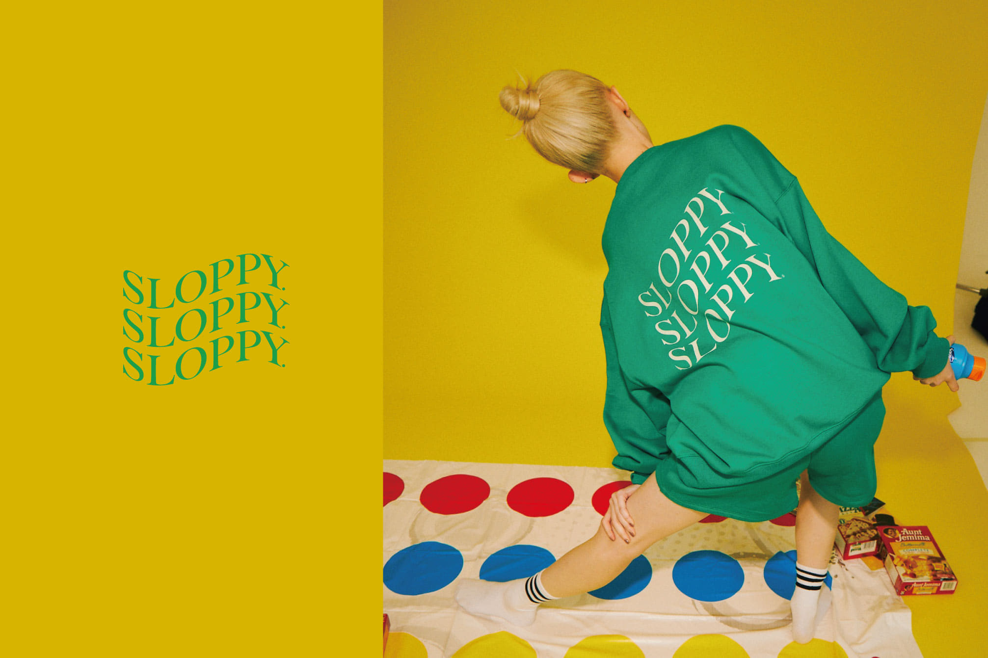 WHO'S WHO gallery 【SLOPPY】new items