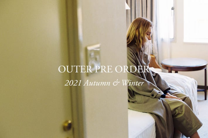 BLOOM&BRANCH 【 2021 Winter OUTER PRE ORDER 】 予約アイテムに新作を追加しました