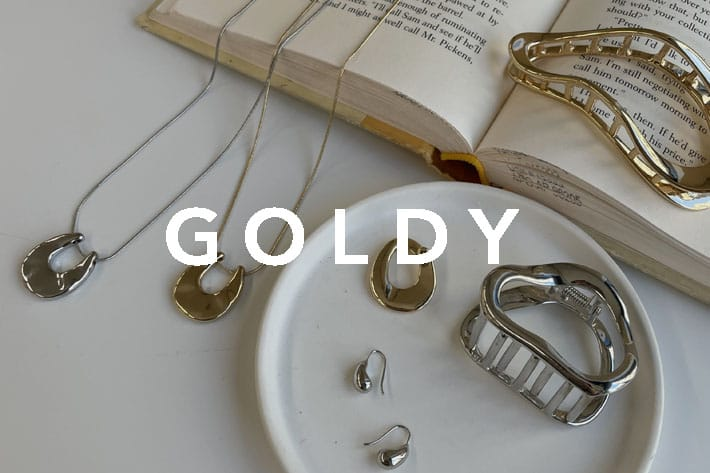 CAPRICIEUX LE'MAGE 【GOLDY】新作アクセサリー予約販売スタート!