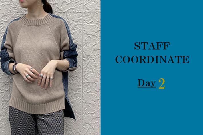mona Belinda 【TIME SALE】対象商品とスタッフの着こなしDay2
