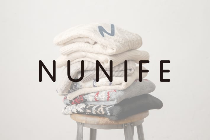 NICE CLAUP OUTLET 【NUNIFE新作アイテム】