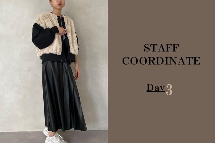 mona Belinda 【TIMESALE】対象商品とスタッフの着こなしDAY3