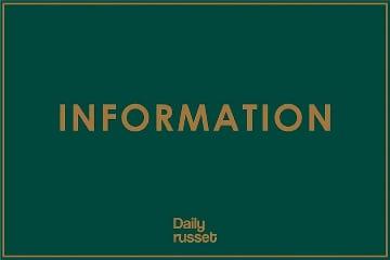 Daily russet 緊急事態宣言発令に伴う休業と営業時間短縮のお知らせ