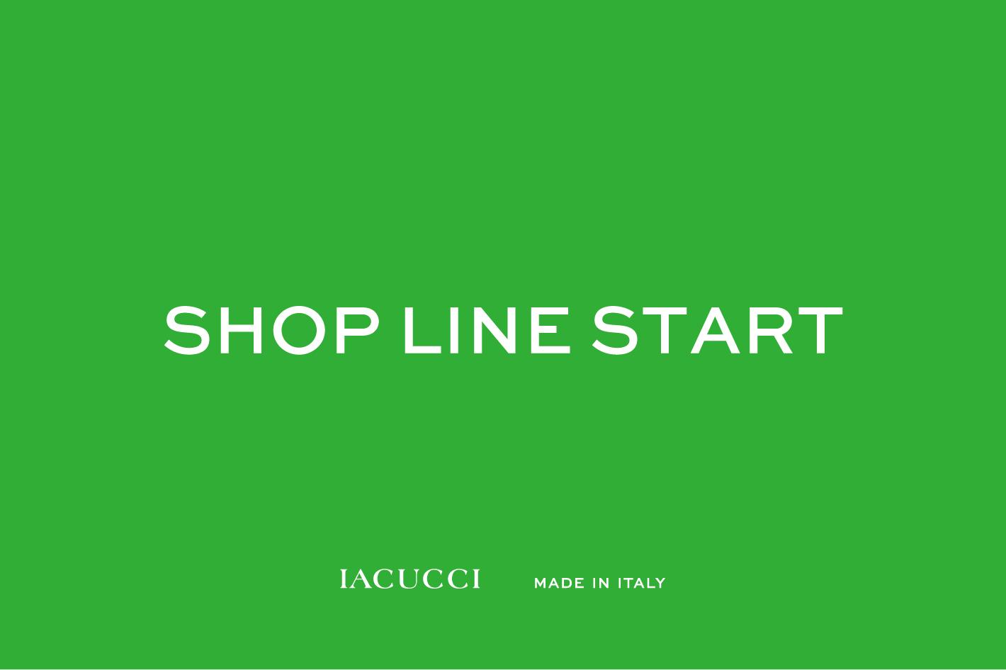 IACUCCI IACUCCI店舗公式LINEがスタート!